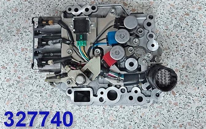 Гидроблок Jatco JF414E