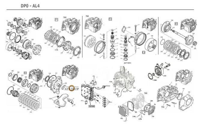Конструкция DP0 AL4