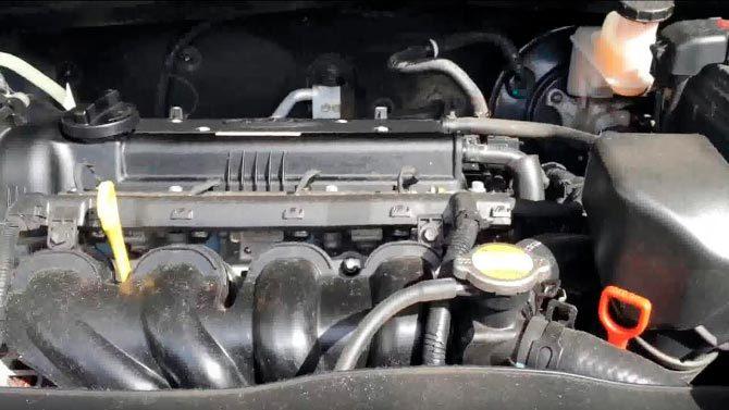 Двигатель Кип Рио 3