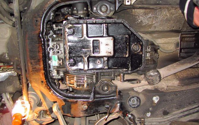 АКПП 5HP19 без крышки поддона