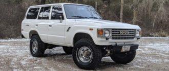 Land Cruiser 1985