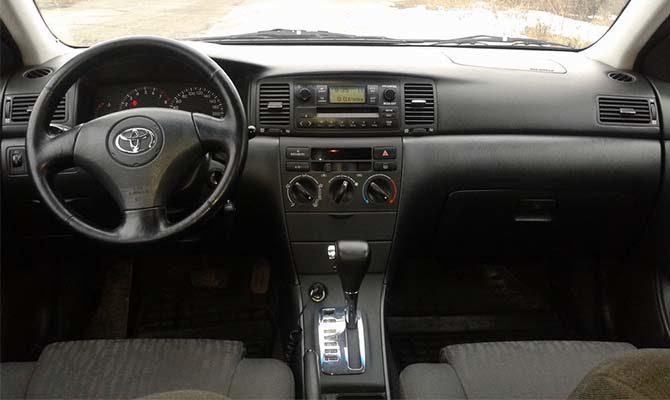 Toyota Corolla 2005 АКПП