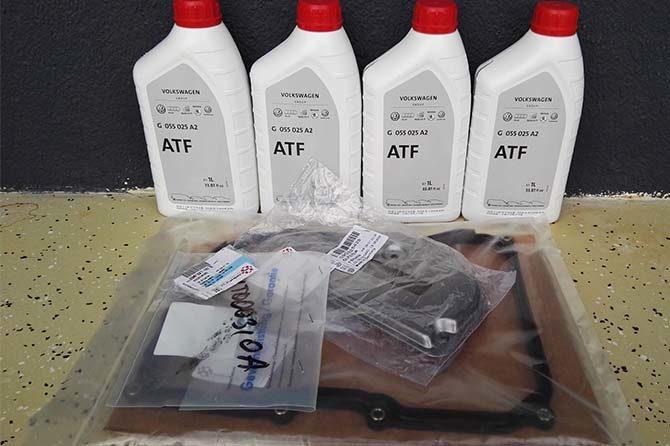 ATF и прокладки АКПП