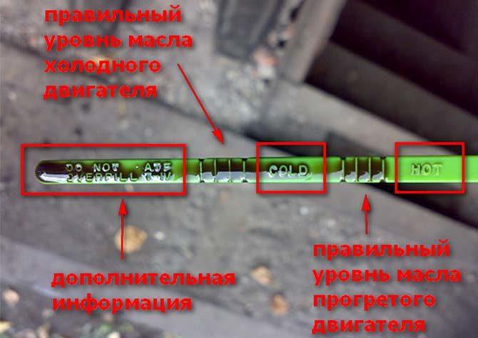Проверка уровня масла в АКПП щупом