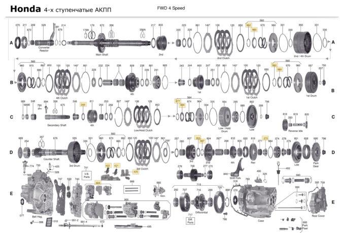 АКПП MR4A