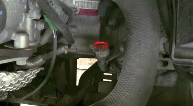 Suzuki SX4 щуп в акпп