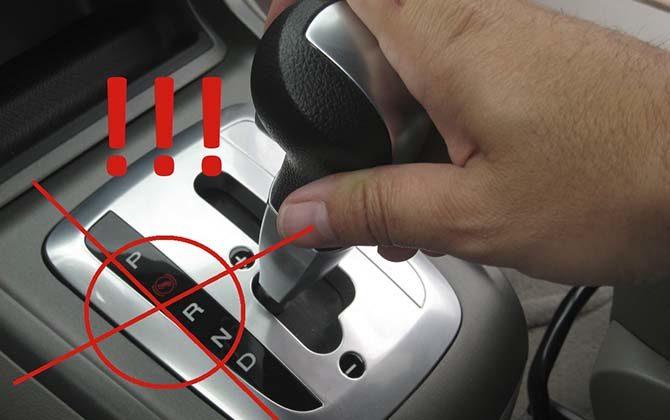 Ошибки вождения на акпп