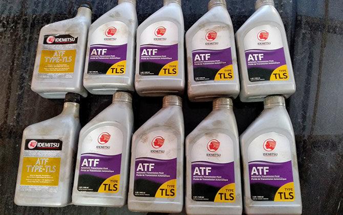 Что это такое ATF масло