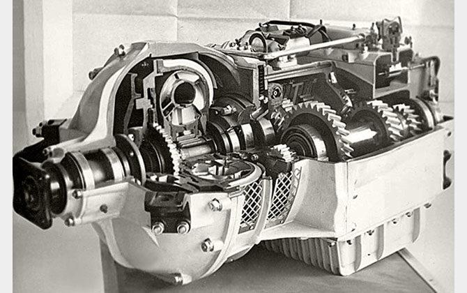 Устройство гидромеханической коробки передач
