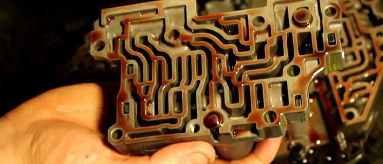 Ремонт гидроблока АКПП своими руками