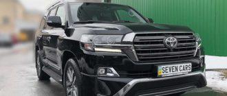 Toyota Land Cruiser 200 дизель