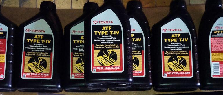 Оригинальное масло и аналоги для АКПП Тойота