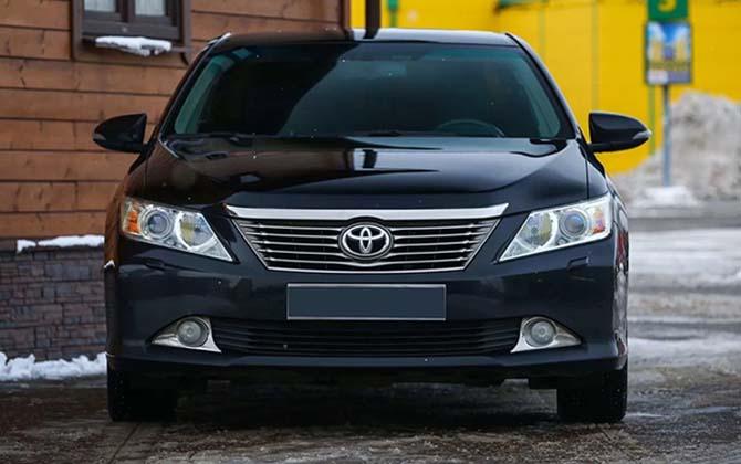 Замена масла а АКПП Toyota Camry V50 своими руками