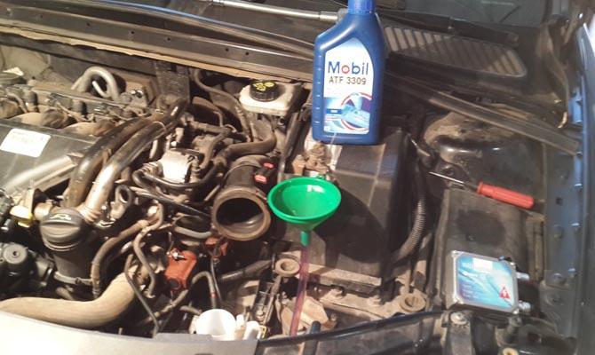 Замена масла на Форд Мондео 4