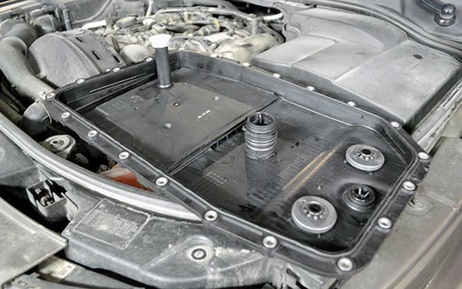 Материалы для комплексной замены масла в АКПП Land Rover Discovery 3 и 4